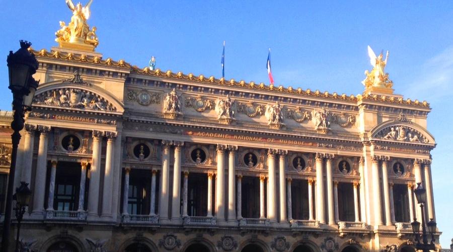 Начало обзорной пешеходной экскурсии по Парижу