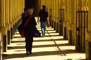 Париж - во многом город пешеходный
