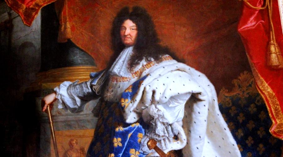 Людовик XIV в Версале