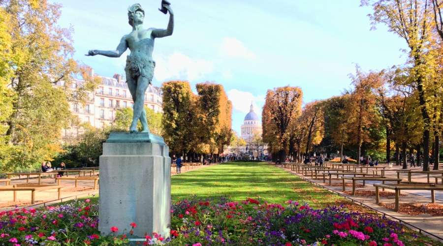 Пантеон и Люксембурский сад на обзорной по Парижу