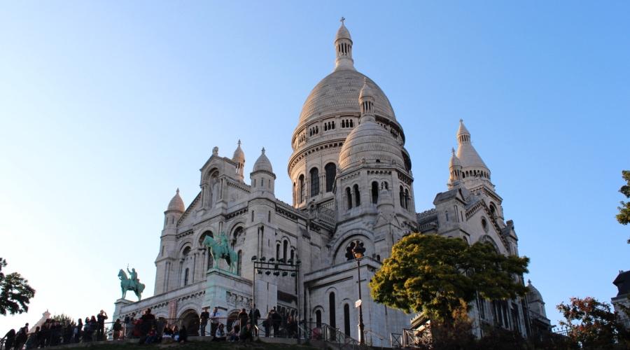Финал экскурсии по Монмартру