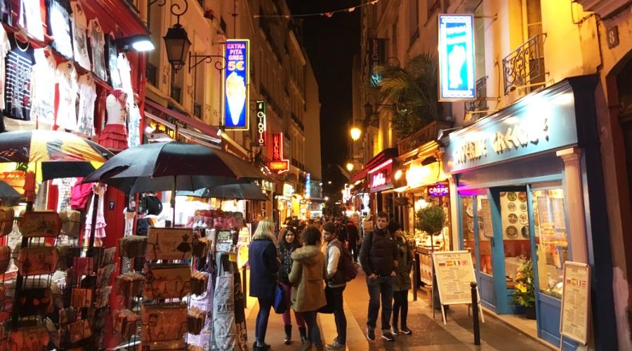 Ночные улицы Латинского квартала