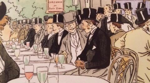 Абсент в Париже