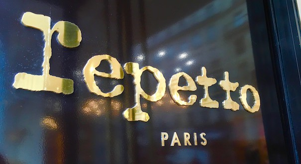 Repetto в Париже