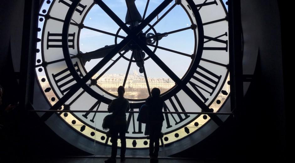 Часы в музее Орсе
