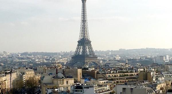 Рестораны Парижа с видом на Эйфелеву башню