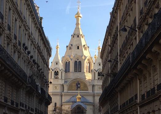 Русский храм в Париже